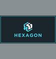 Xg hexagon logo design inspiration