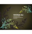 6floral line 42 1 vector image vector image