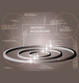 circles volume sparkle on background vector image