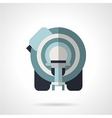 CT scanner flat icon vector image vector image