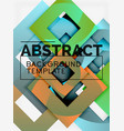 geometric minimal abstract background with vector image