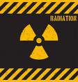 grunge radiation background vector image vector image