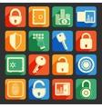 Lock safe icons