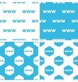 WWW patterns set vector image vector image
