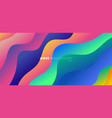 abstract background modern vibrant gradient color vector image vector image