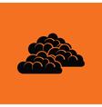 Cloudy icon vector image vector image