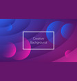 futuristic background with dynamic wavy shapes vector image