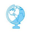 geography tool icon vector image vector image