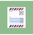 Mail envelope icon vector image vector image
