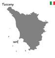 Map of region of italy
