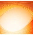 Orange abstract solar background template vector image vector image