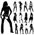 fashion women vector image