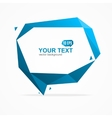 Bubble Speech Banner Card vector image vector image