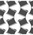 car radiator repair service garage seamless vector image