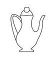 drinks mug cartoon vector image vector image