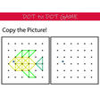 educational game for kids - copy picture vector image vector image