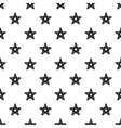 Hand painted seamless pattern dry brush star vector image vector image