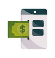 payments online website banknote money flat icon vector image