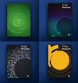 templates design set web mail brochures mobile vector image vector image
