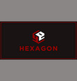 Ye hexagon logo design inspiration