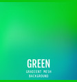 abstract green bright gradient mesh oriental wave vector image