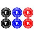 bangladesh rubber stamp vector image
