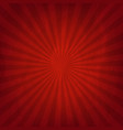 crumpled red paper vector image