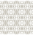 Lace pattern with white shapes in art deco style vector image vector image
