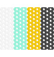 seamless rattan pattern in flat style art vector image vector image