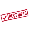 Best Gifts rubber stamp vector image vector image