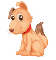 Cool dog vector image
