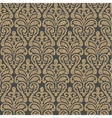 damask seamless pattern background vector image