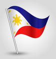 flag philippines vector image
