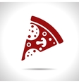 pizza icon Eps10 vector image vector image