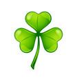 saint patricks day irish three leaf vector image