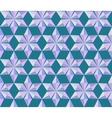 Seamless christmas pattern Crystal snowflakes vector image