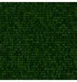Seamless Green Decimal Computer Code Background vector image vector image