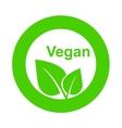 symbol of vegetarian food vector image