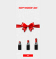 8 march womens day fashion sale banner vector image vector image
