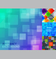 abstract square background vector image vector image