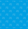 brisk lizard pattern seamless blue vector image vector image