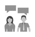 communication skills vector image vector image