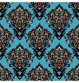 ethnic tribal damask seamless pattern background vector image