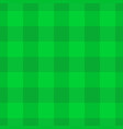 green lumberjack plaid pattern seamless vector image