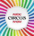 Magic Circus Show poster vector image vector image