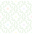spring pattern green vector image vector image