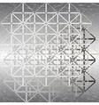 steel design vector image vector image