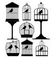 Birdcage vector image vector image