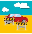 Buy or rent a car business vector image