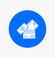 credit card money currency dollar wallet white vector image vector image